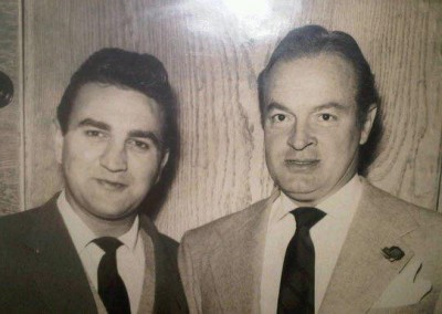 Eddie Arnold and Bob Hope