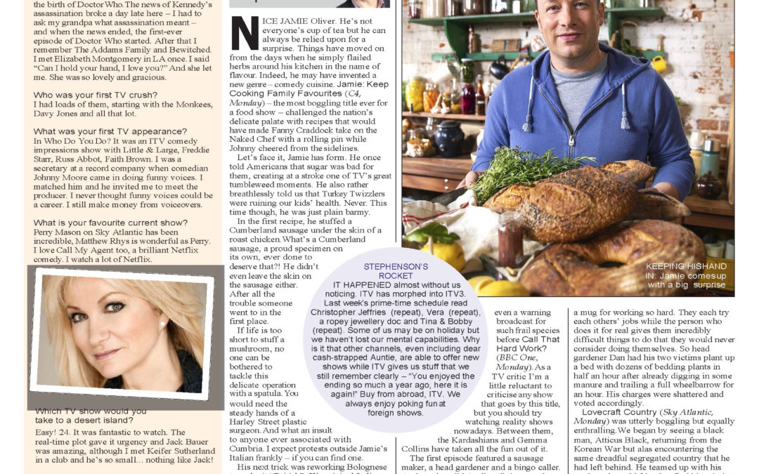 """Debbie tells the Sunday Express about """"My TV Life"""""""